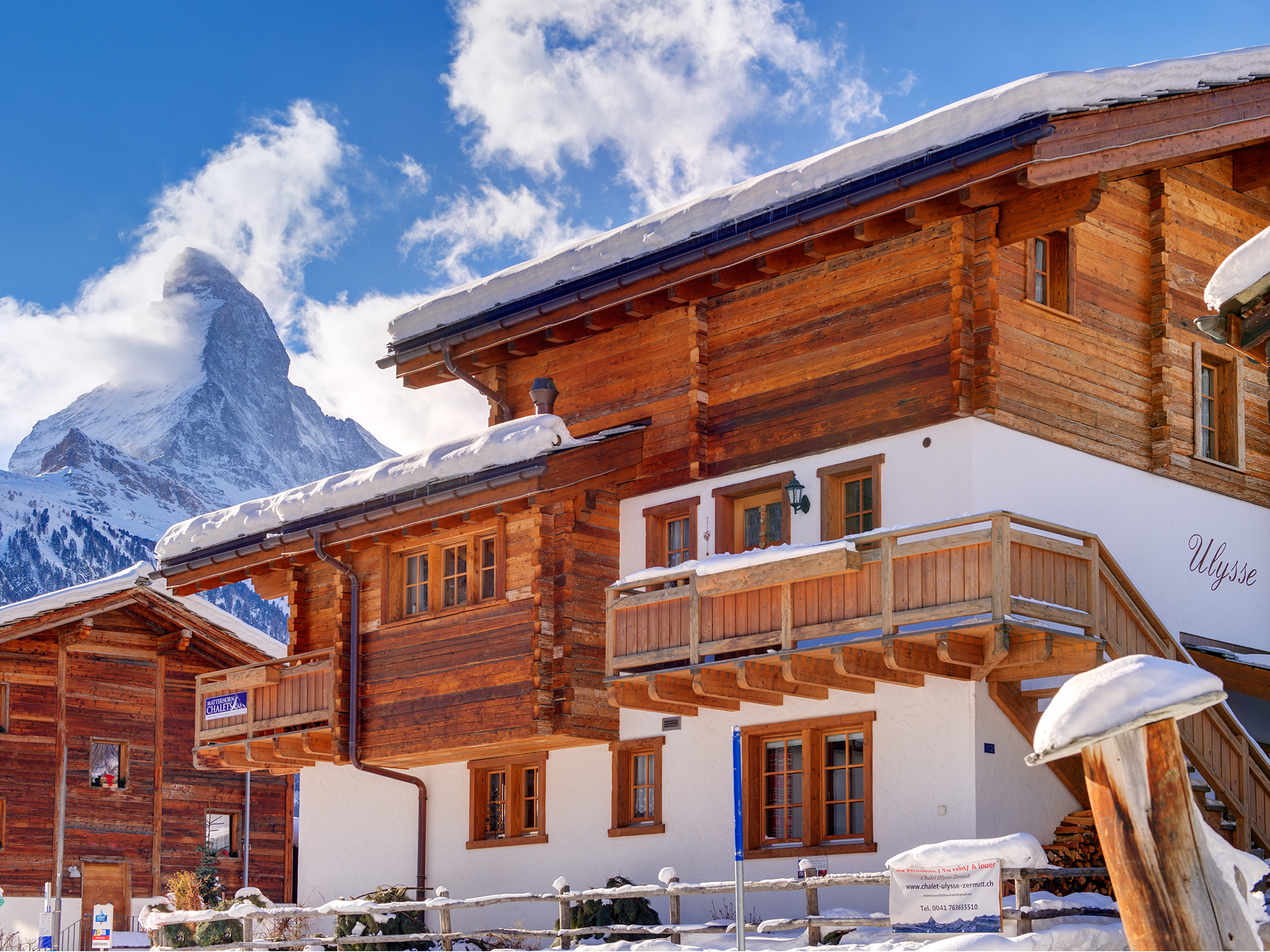 location appartement ski zermatt