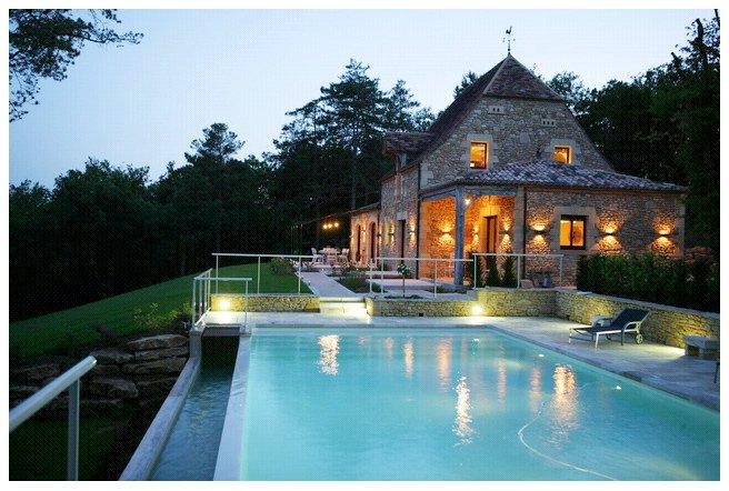 Dordogne Location Villa Prestige Sarlat Perigord Piscine Maison