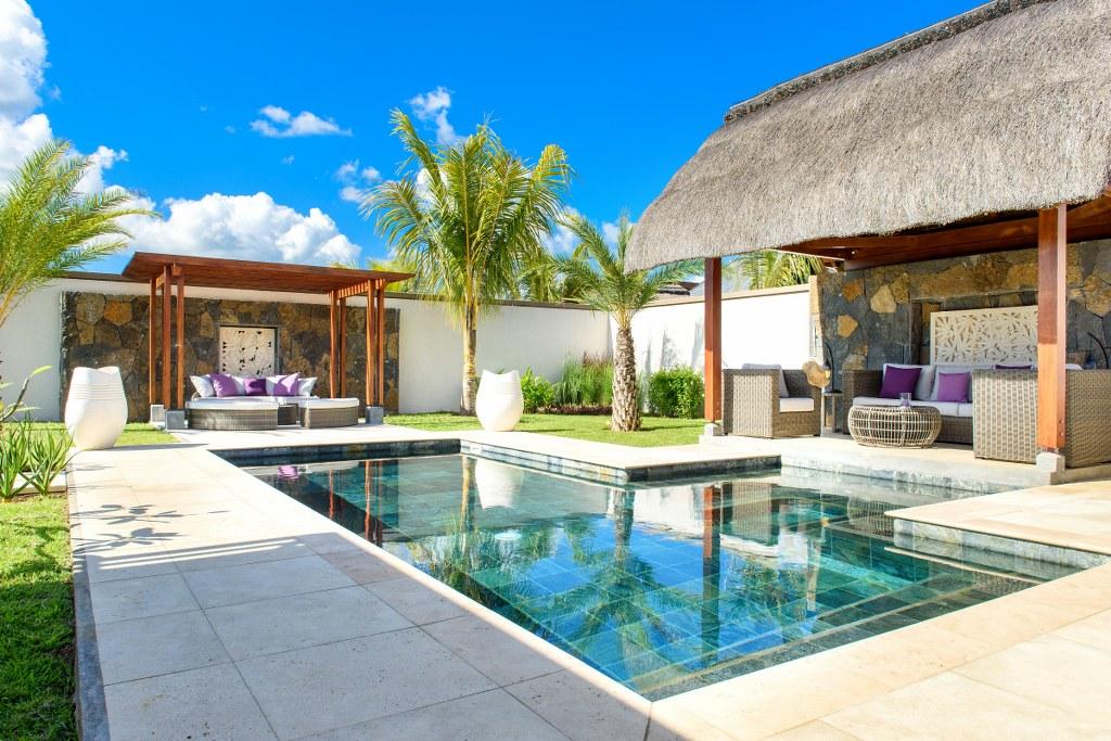 location villa ile maurice piscine priv e et acc s plage priv e