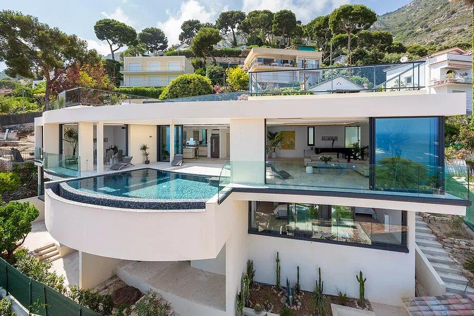 Location villa de luxe eze piscine chauff e 7min de la - Villa de vacances exotiques island views ...
