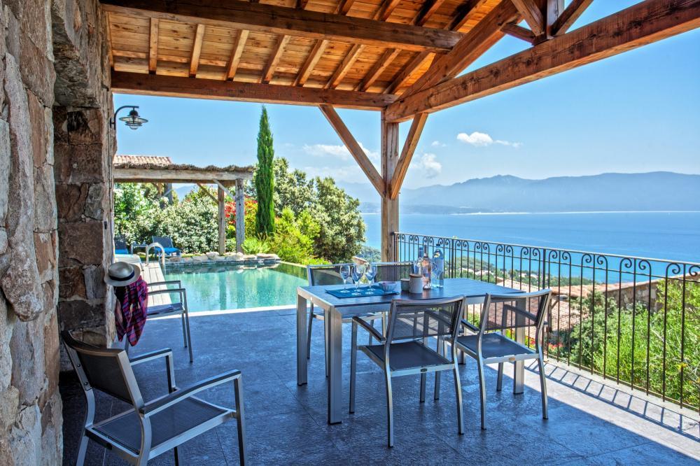Location villa propriano 500m des plages corse du sud - Villa corse du sud ...