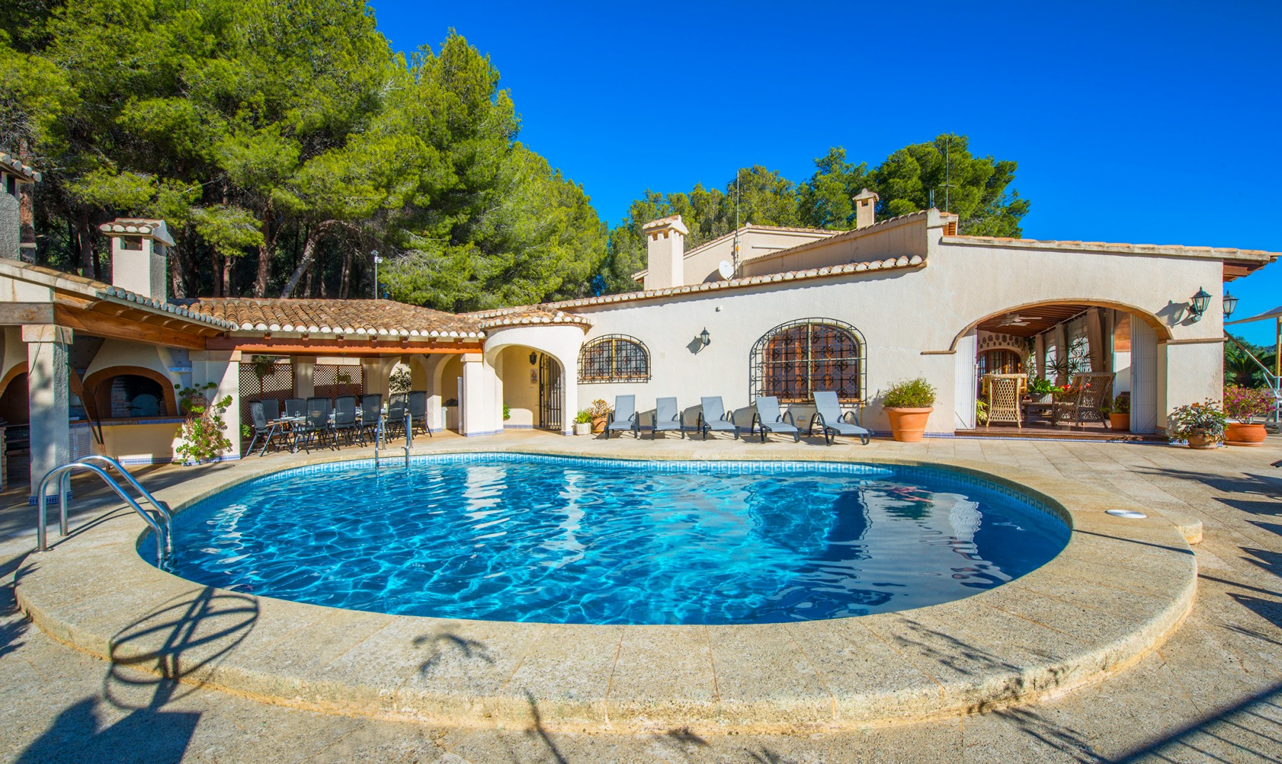 Costa blanca location villa calpe piscine priv e for Villa piscine privee