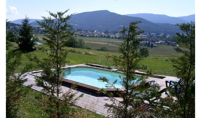 Location d 39 un chalet villard de lans avec piscine for Piscine villard de lans