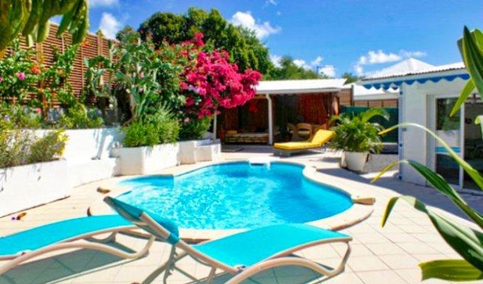 location villa guadeloupe avec piscine privative saint fran ois. Black Bedroom Furniture Sets. Home Design Ideas