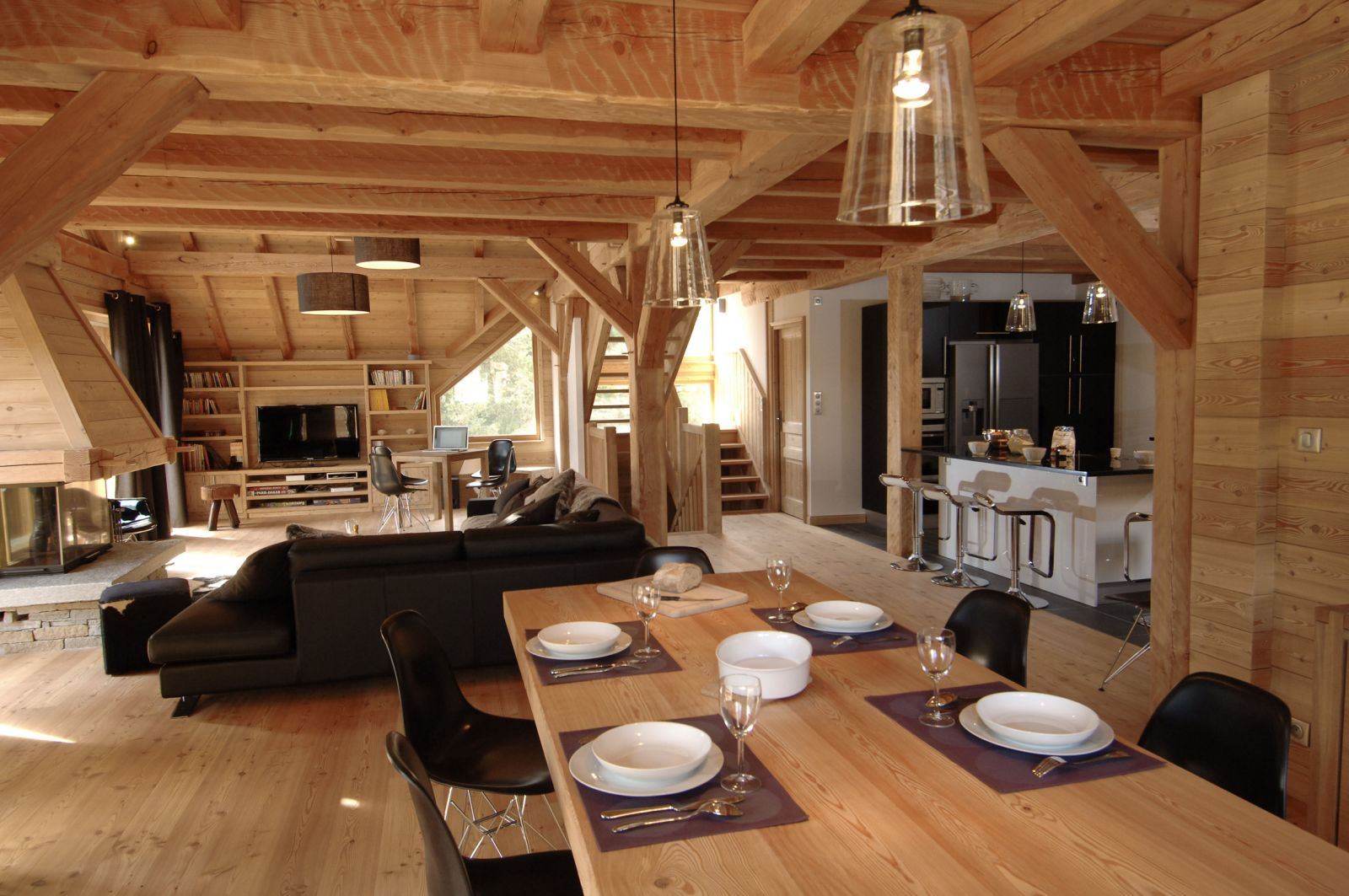 location chalet luxe serre chevalier pied des pistes spa services. Black Bedroom Furniture Sets. Home Design Ideas