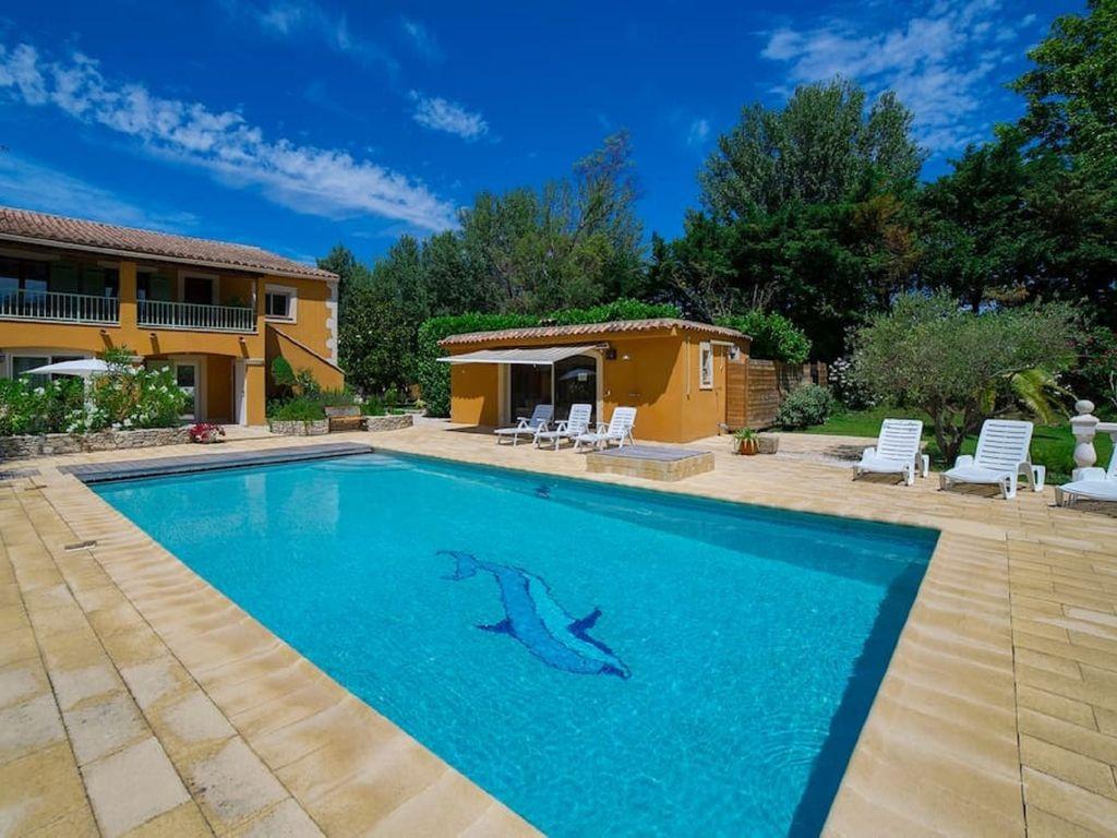 avignon location villa provence avec piscine privee