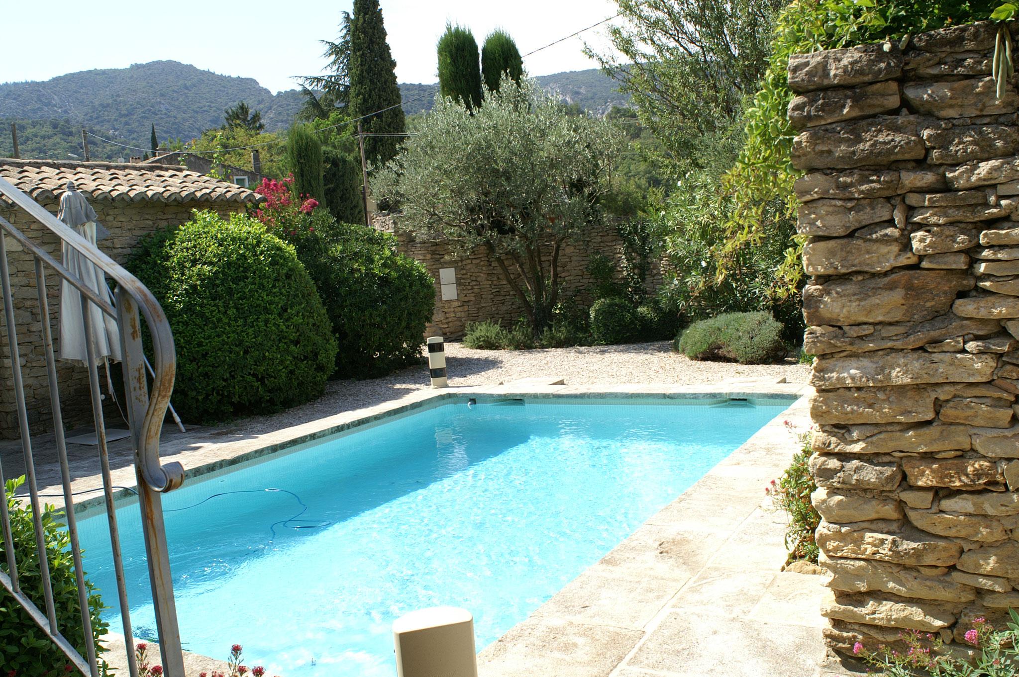 Provence location villa luberon avec piscine privee - Location maison avec piscine luberon ...