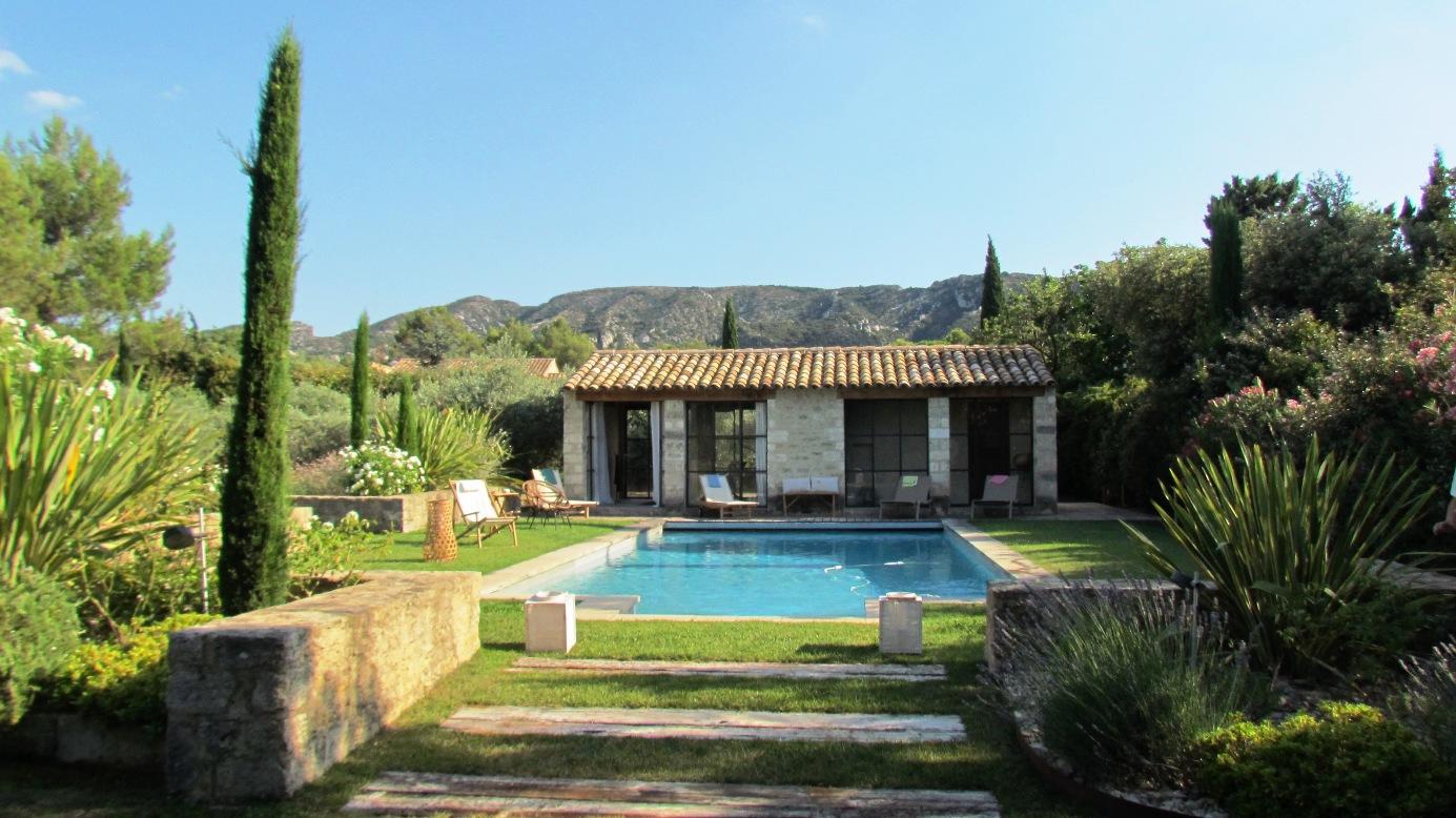 Location villa luxe saint remy de provence avec piscine privee - Piscine saint remy les chevreuses ...