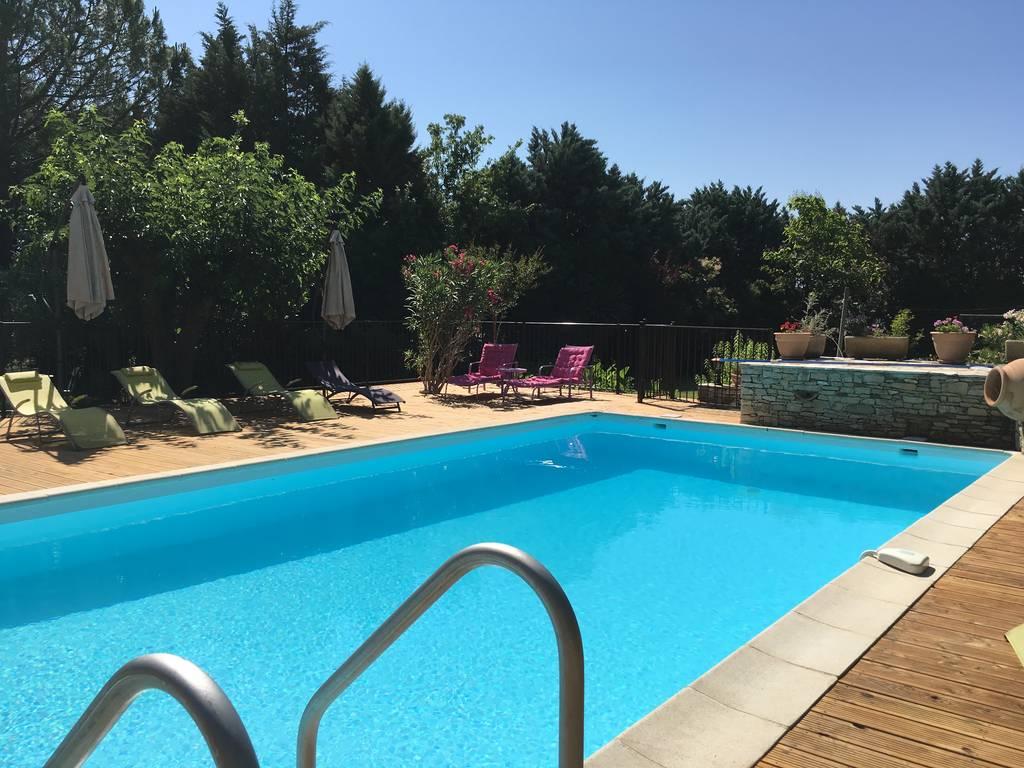 Languedoc Roussillon Location Villa Alès Km Avec Piscine Privée - Hotel languedoc roussillon avec piscine