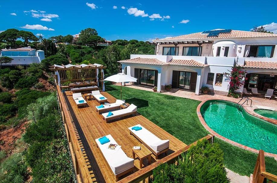 Location Villa Luxe Albufeira En Front De Plage Avec Piscine