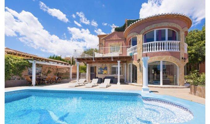 Costa blanca location villa luxe calpe piscine priv e for Villa de luxe canada