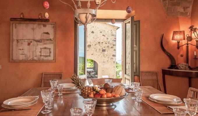 Location Villa Toscane Piscine Privee Personnel Groupes