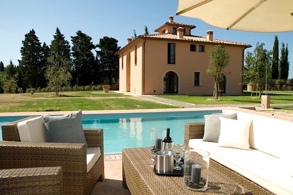 Location vacances san gimignano italie toscane villa de luxe avec - Villa de vacances luxe location think ...