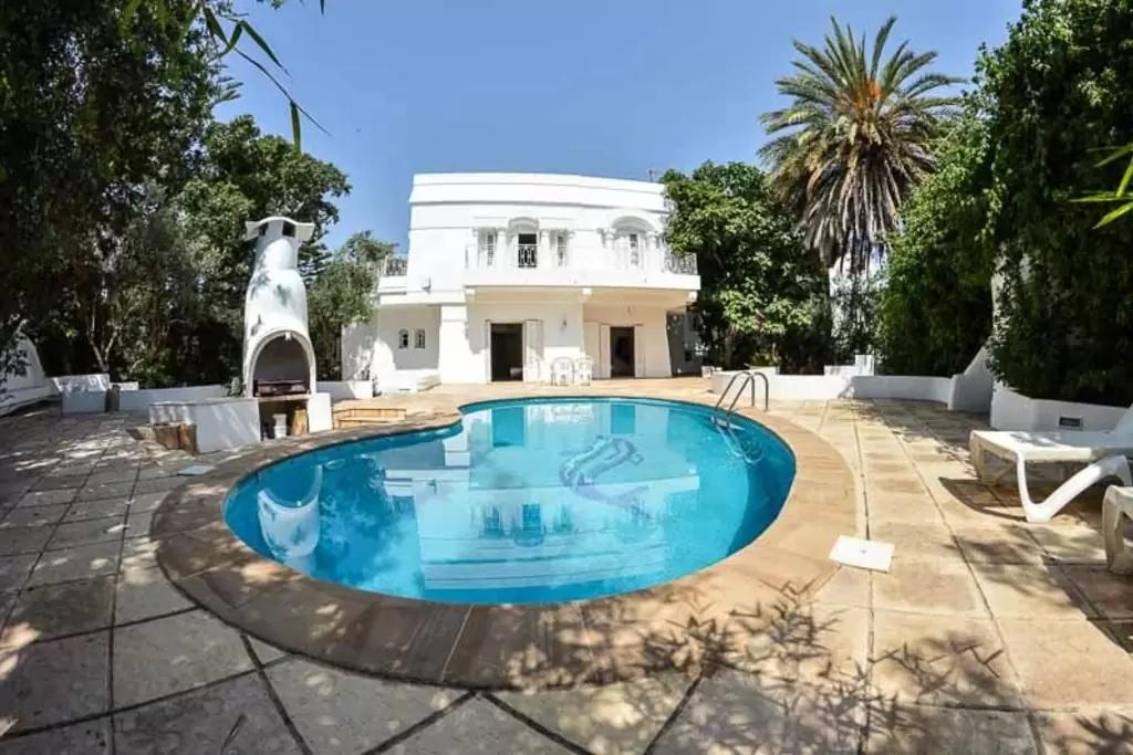 Location Villa Hammamet Avec Piscine Priv E En Tunisie Villa Espagne Avec  Piscine Privee