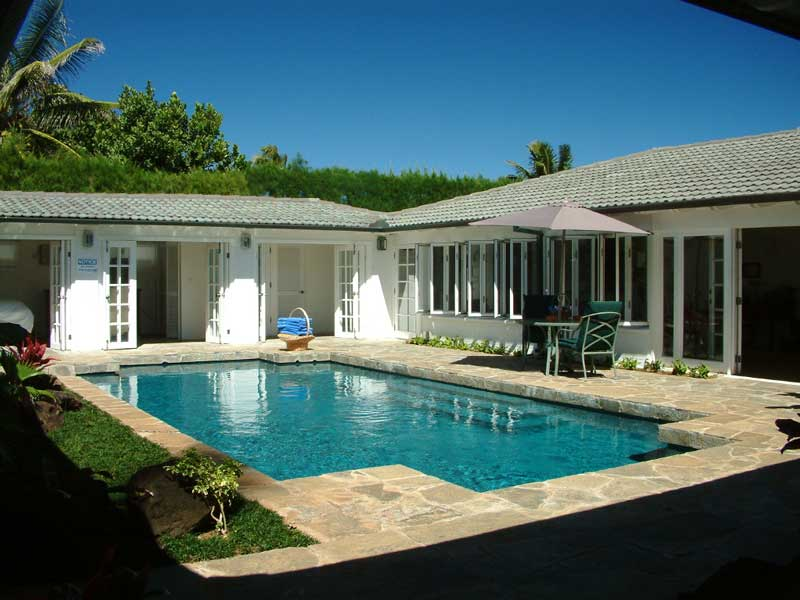 Location villa de luxe sur l 39 ile de oahu hawai for Villa luxe usa