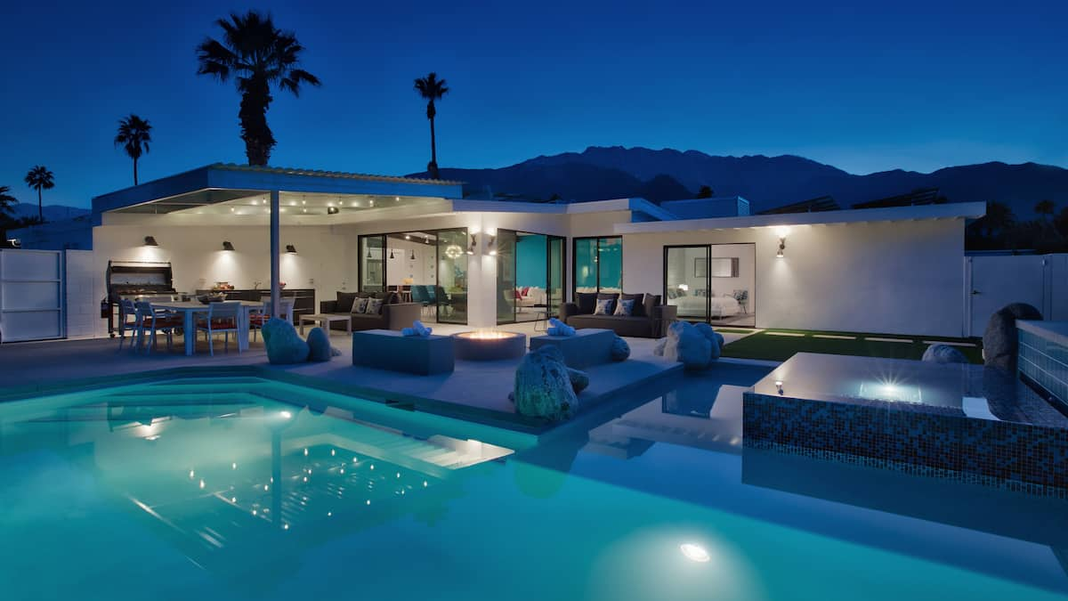 Location villa de luxe palm springs en californie for Villa de luxe canada