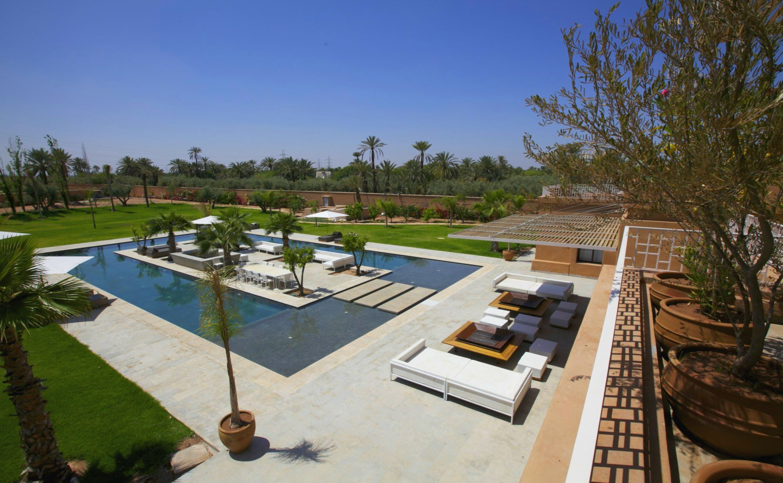 Location villa vacances marrakech avec piscine priv e et for Piscine privee marrakech