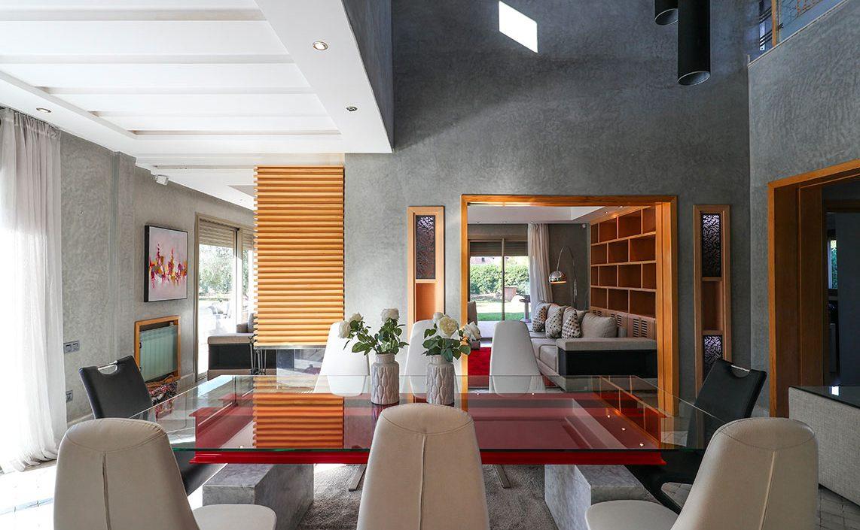 Location Villa Vacances A Marrakech Avec Piscine Privee Et Vue Sur