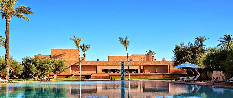 Chambres d 39 h tes marrakech dans un h tel de luxe avec piscine - Prix chambre hotel mamounia marrakech ...