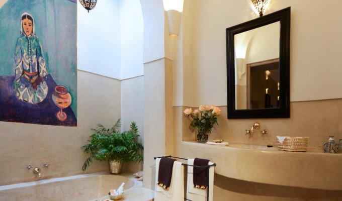 Location riad marrakech en exclusivit pour 20 personnes for Riad marrakech piscine