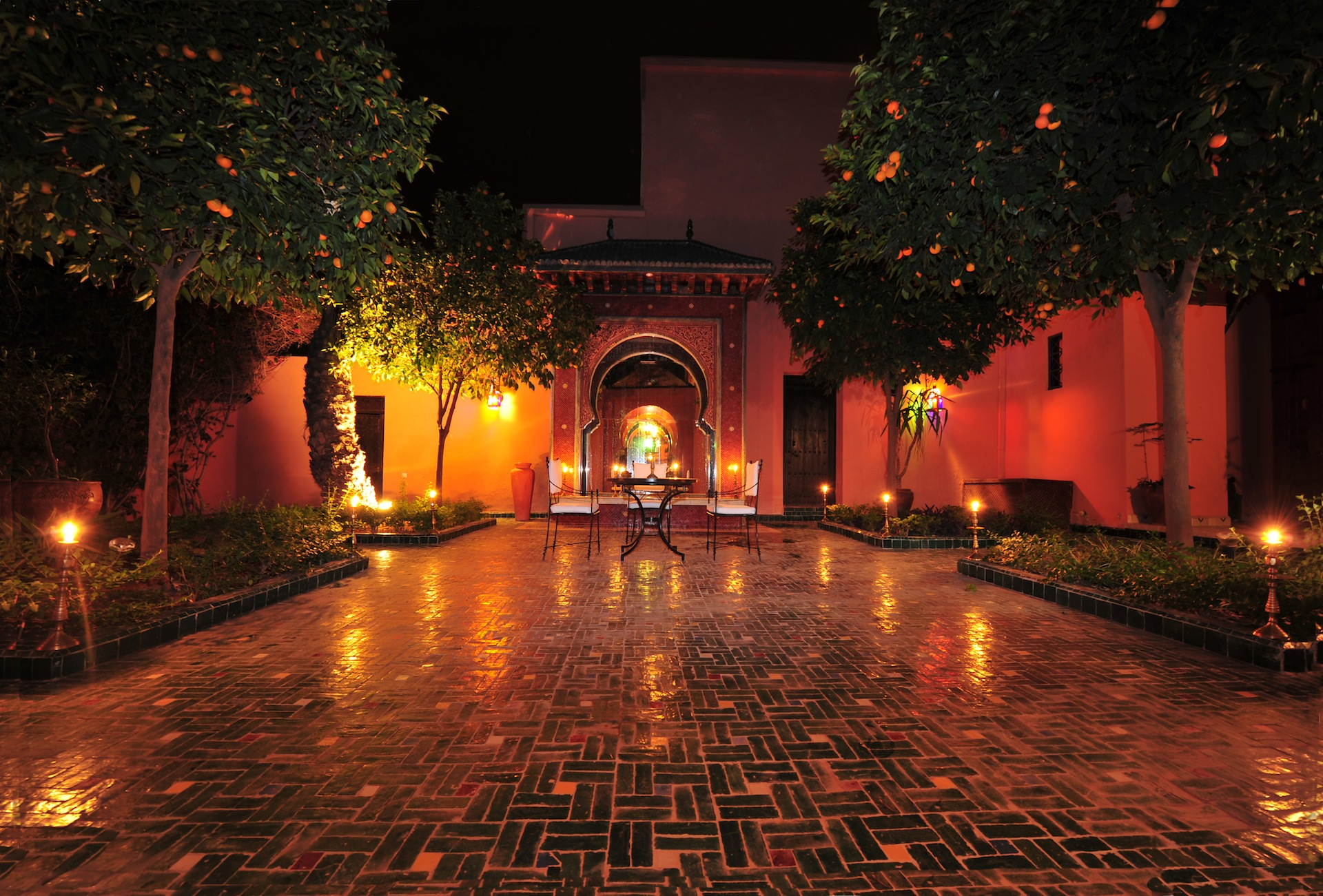 Location villa vacances marrakech avec piscine et proche for Villa a marrakech avec piscine