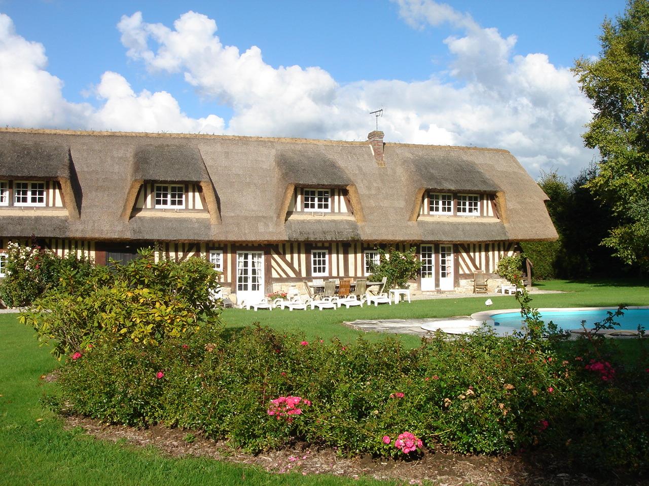 Accueil - Location Villa Eden, grande villa proche Deauville piscine