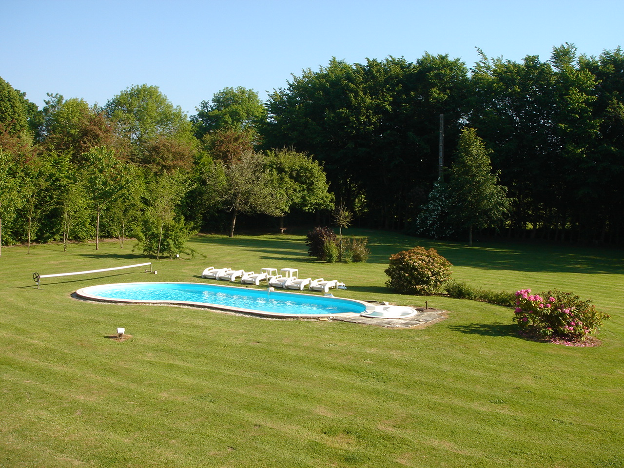 Location villa deauville piscine priv e chauff e for Piscine deauville