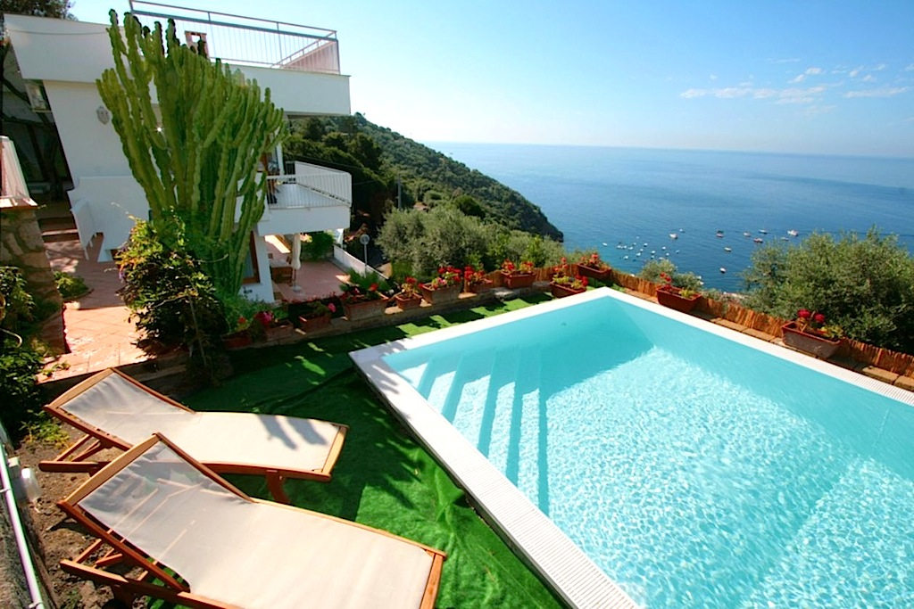 Location villa de luxe cote amalfi avec piscine priv e for Villa piscine privee