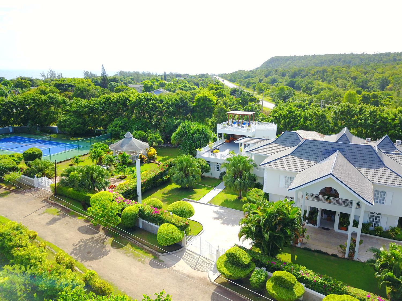 Jamaique location vacances villa luxe discovery bay - Villa de reve pineapple jamaique ...