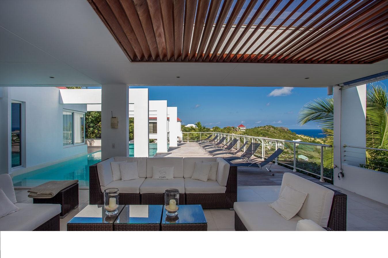 Location vacances st barth l my villa de luxe st barth avec for Location luxe vacances