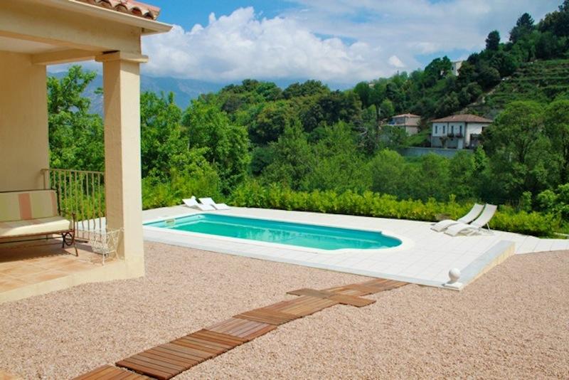 Location villa avec piscine privee pres d 39 ajaccio en corse - Villa avec piscine privee ...