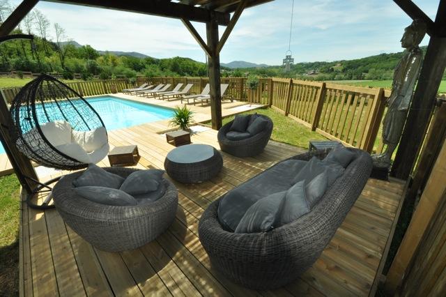 Cote atlantique location vacances avec piscine st jean de luz for Piscine pays basque