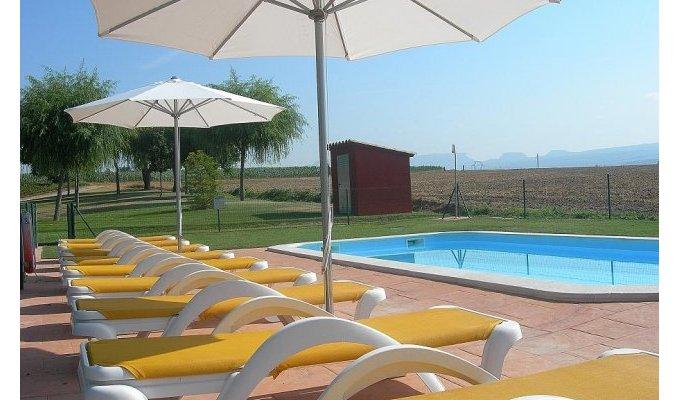 Location d 39 un gite avec piscine vic 1h barcelone en - Location maison avec piscine barcelone ...