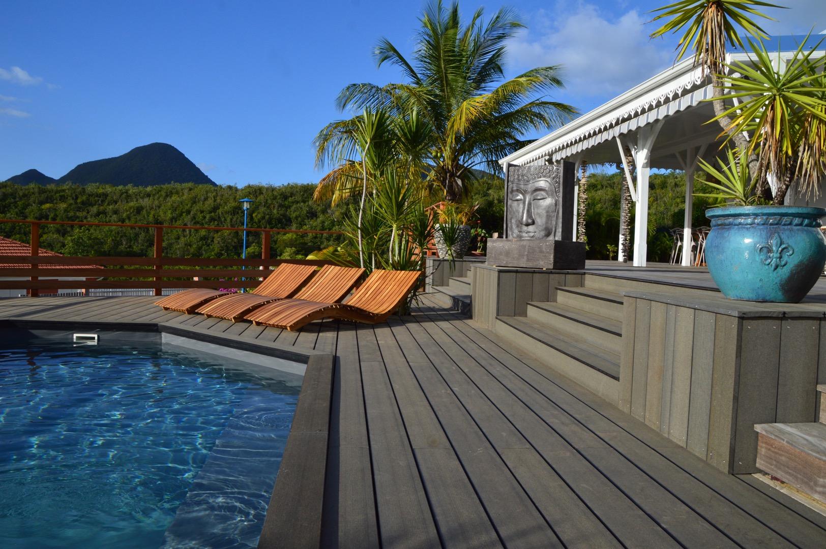 Location Villa Martinique Le Diamant Avec Piscine Prive Et