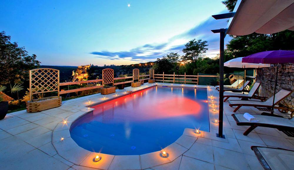 Location gite rocamadour avec piscine chauff e dans le lot for Location gites avec piscine