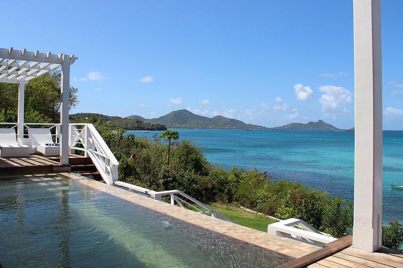 location villa la grenade sur lile de carriacou villa sur la plage - Location Maison Vacances Piscine Prive