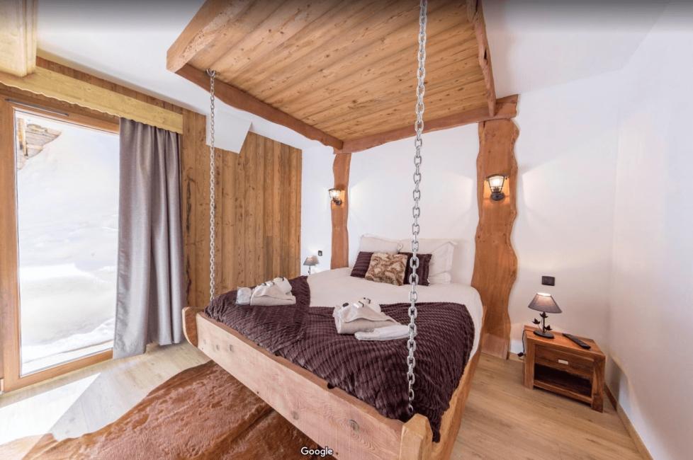 Location chalet luxe aux Ménuires station de ski les 3 Vallées