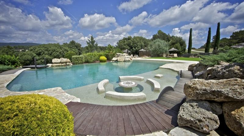 Cote d 39 azur var ampus demeure de caractere location de 4 for Camping gorges du verdon avec piscine