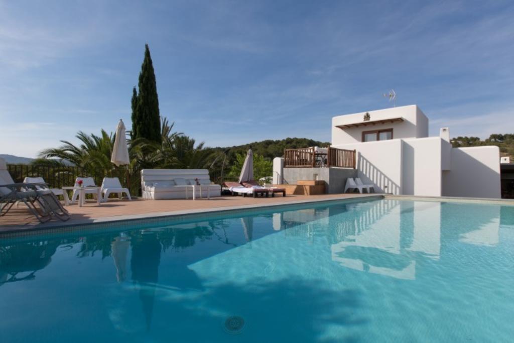 Location villa de luxe ibiza piscine priv e san carlos - Location villa espagne piscine privee ...