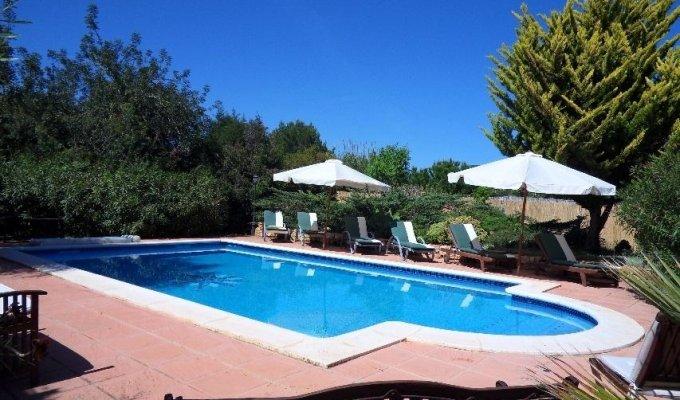 Location villa ibiza piscine priv e cala jondal iles for Piscine baleares