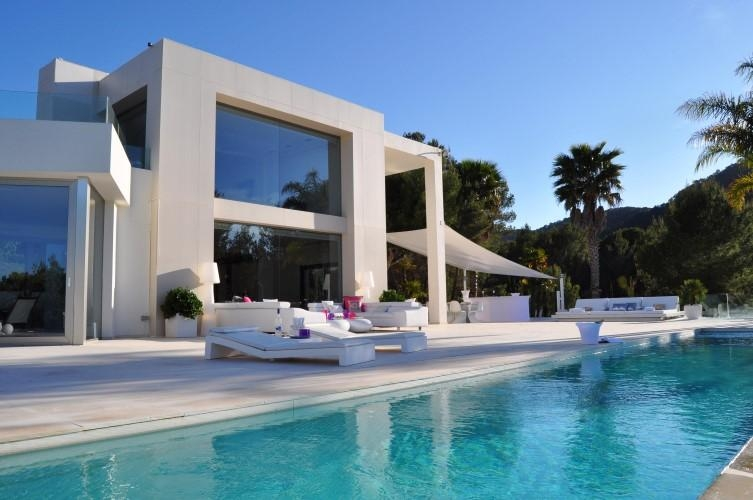 location villa de luxe ibiza piscine priv e bord de mer san jose. Black Bedroom Furniture Sets. Home Design Ideas
