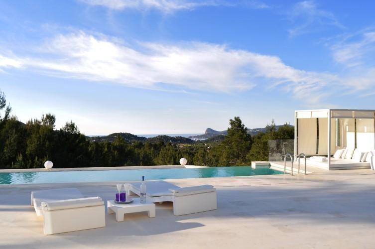 Location villa de luxe ibiza piscine priv e bord de mer - Location de piscine privee ...