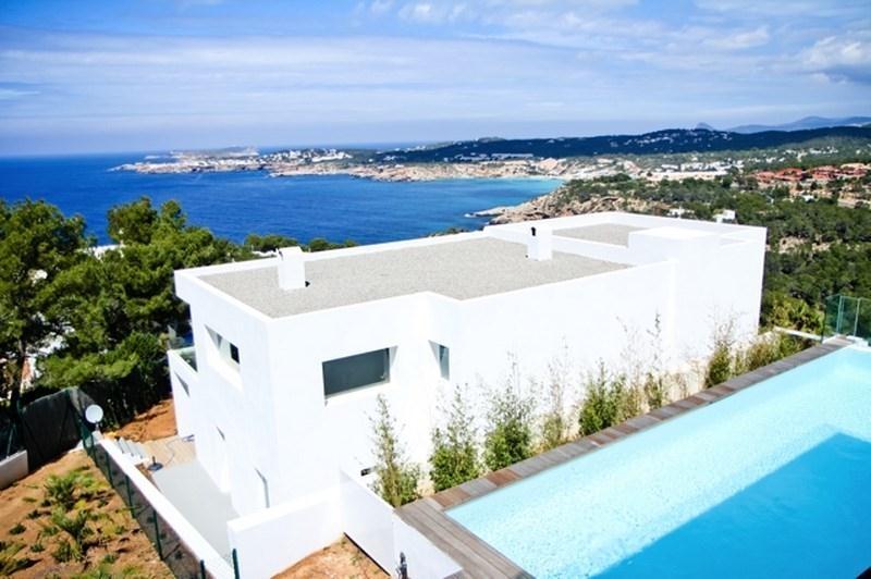 Location Villa De Luxe Ibiza Piscine Privée Bord De Mer Cala Moli Iles  Baléares Espagne ...