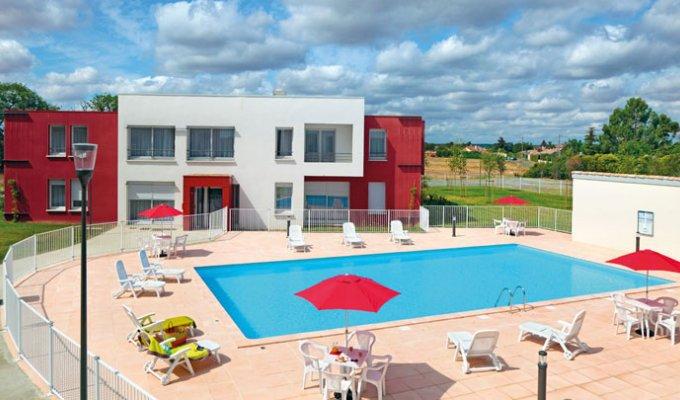 Appart hotel toulouse cornebarrieu 3 piscine wifi for Piscine cornebarrieu