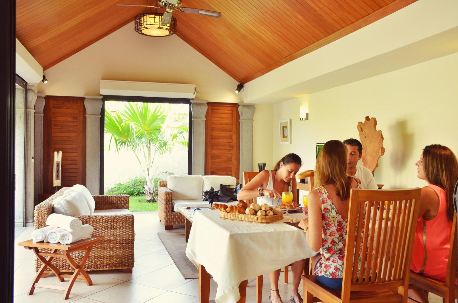 ... Location Villa Ile Maurice Avec Piscine Privée En Résidence De Prestige  à Grand Baie Ile Maurice ...