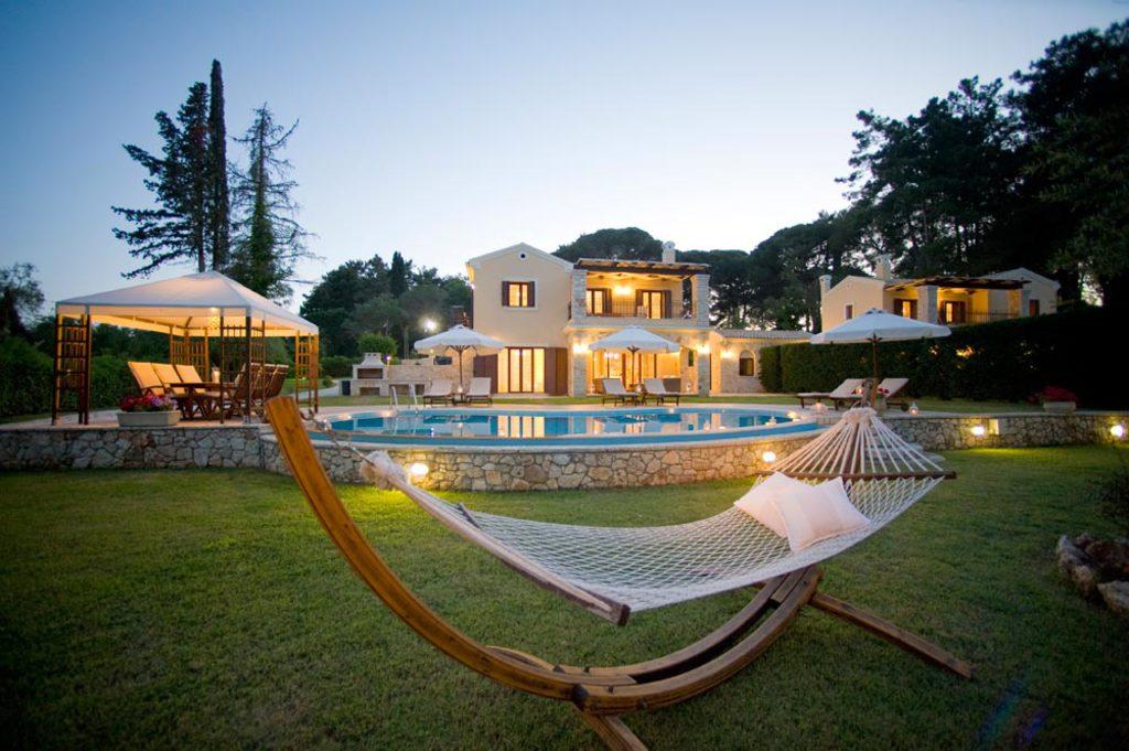 Iles Ioniennes Corfou Maison Vacances Location Villa Corfou Pieds