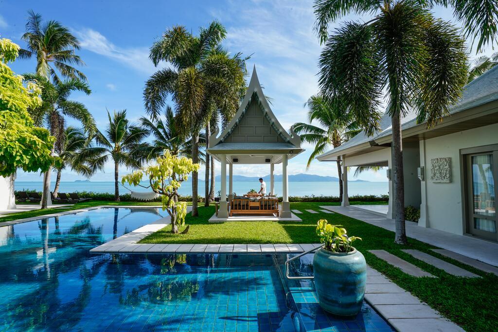 Thailande location vacances villa koh samui maenam - Villa bord de mer ...