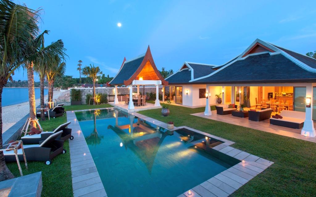 Thailande location vacances villa koh samui maenam - La villa rahimona en nouvelle zelande ...