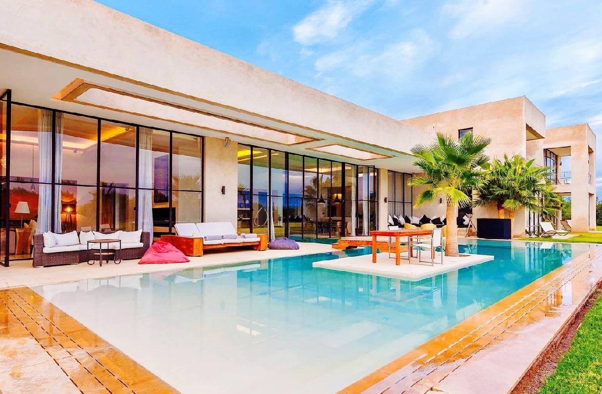 Location villa de luxe marrakech avec piscine et personnel - Location villa collioure avec piscine ...