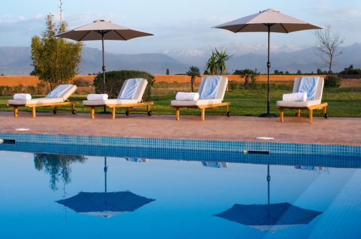 location villa marrakech avec piscine location villa marrakech en exclusivit avec piscine